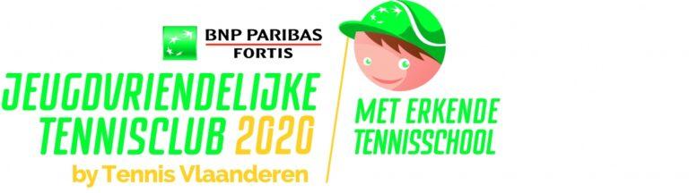 Jeugdvriendelijke tennisclub 2020