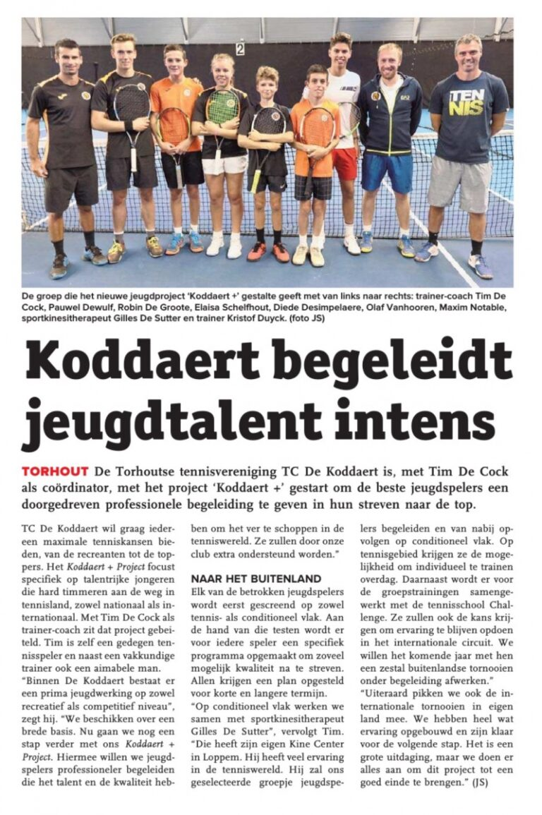 Koddaert 'project +'