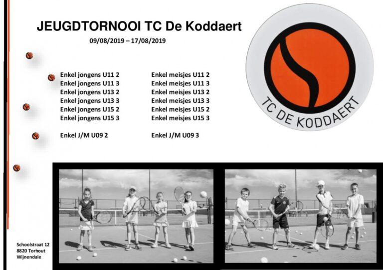 Jeugdtornooi (09/08 – 17/08)
